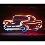 Classic Car Neon Bar Sign