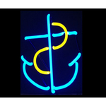 Anchor Neon Sculpture