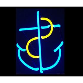 Anchor Neon Sculpture